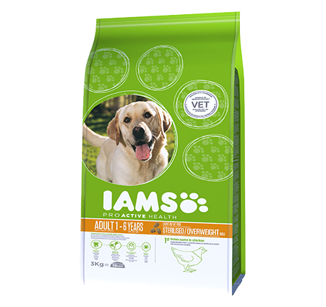 Iams® ProActive Health™ Light Sterilised / Overweight Dogs